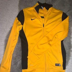 Nike | Black and Yellow Zip up Jacket
